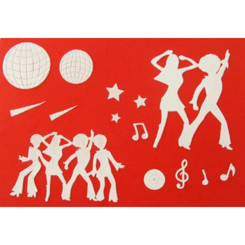 Patchwork Cutter - Disco Dancers
