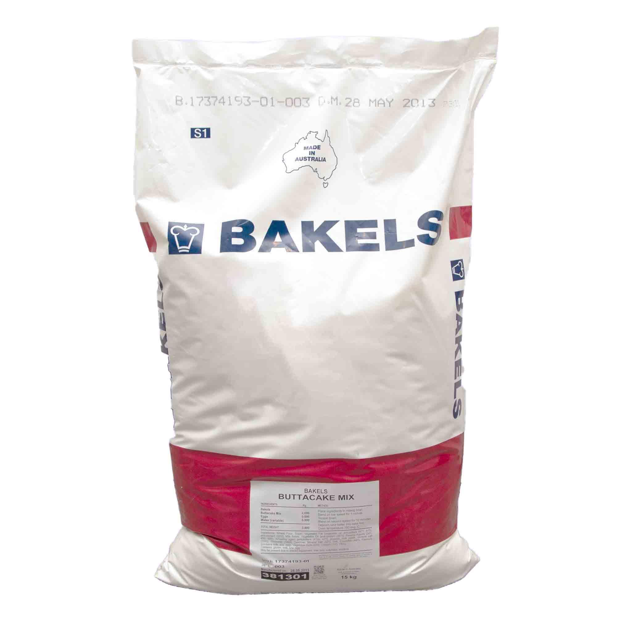 Bakels White Mud Cake Mix