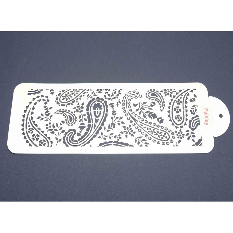 Paisley Stencils For Cakes