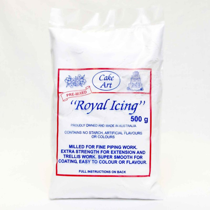 ... Categories Fondant, Icing & Pastes Icing Cake Art - Royal Icing Mix