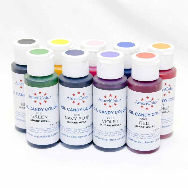 Americolor Candy Colour Oil Based - 2oz Bottle | Lollipop Cake Supplies