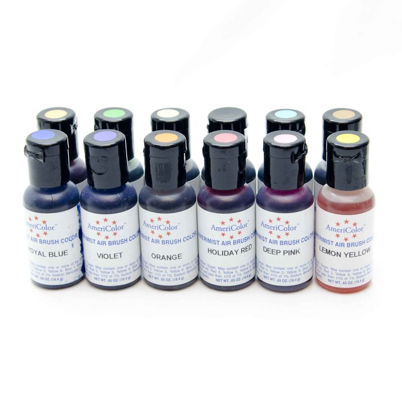 Americolor Amerimist Air Brush Food Colour | 0.65oz | 18.4g ...
