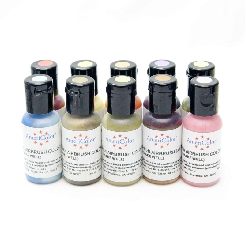 Americolor Amerimist 0.65oz Air Brush Sheen Food Colour