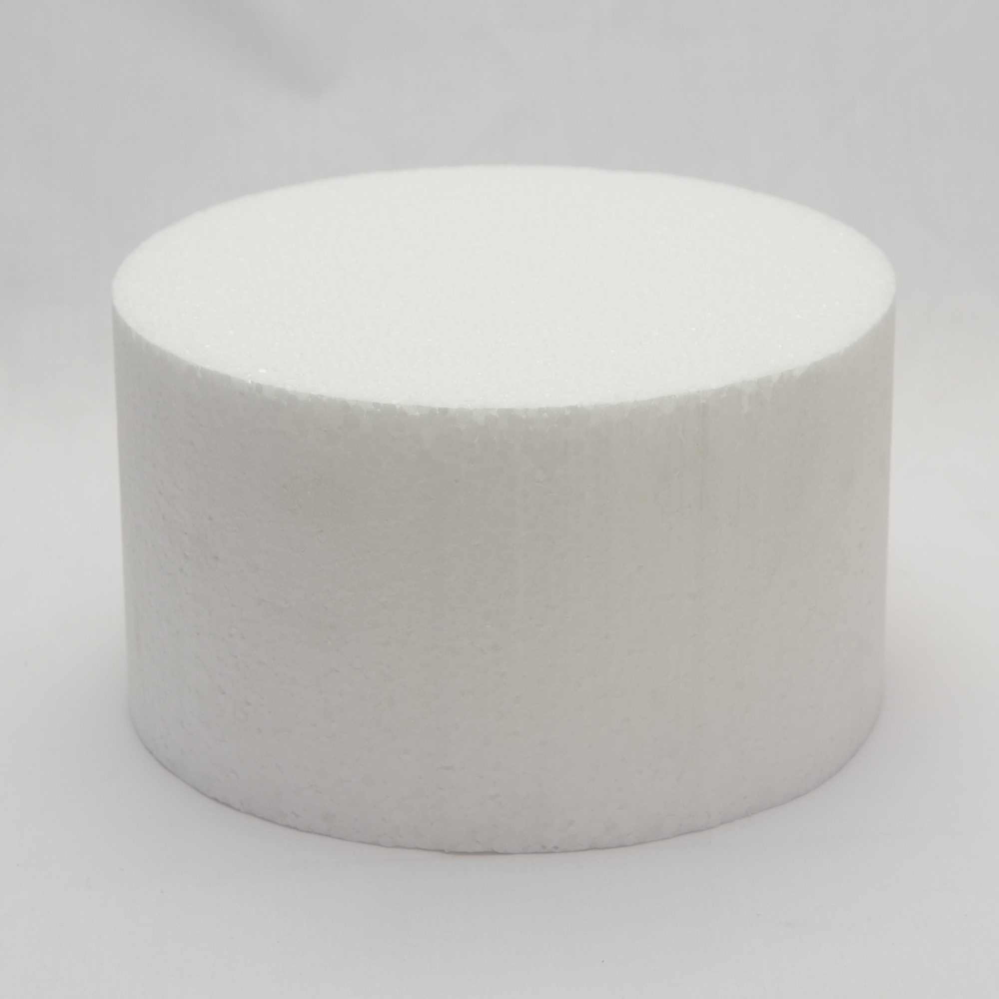 Polystyrene Cake Dummy Round X 5 Quot High Multiple Sizes