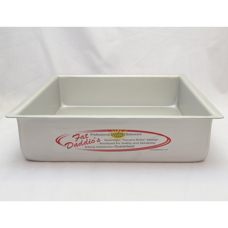 Fat Daddios Square 4 Quot High Cake Pans Lollipop Cake Supplies