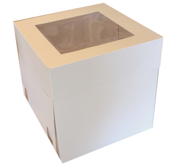 Tall Cake Box with Window | Box with Window | Lollipop Cake Supplies