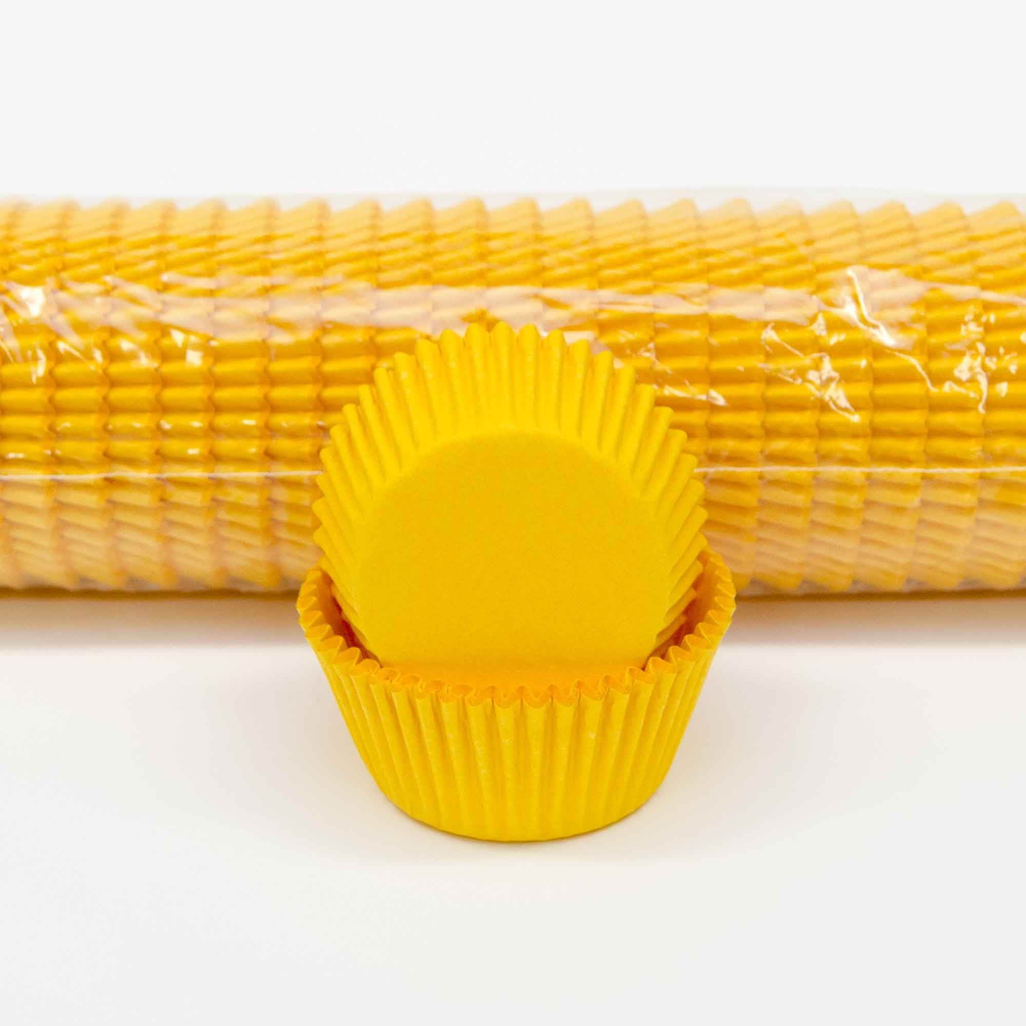 Extra Large Baking Cups 700 Yellow Lollipop Cake Supplies