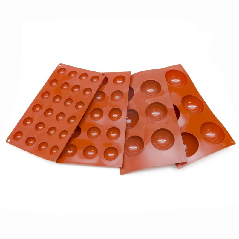 Half Sphere Silicone Baking Mould 28mm Or 70mm