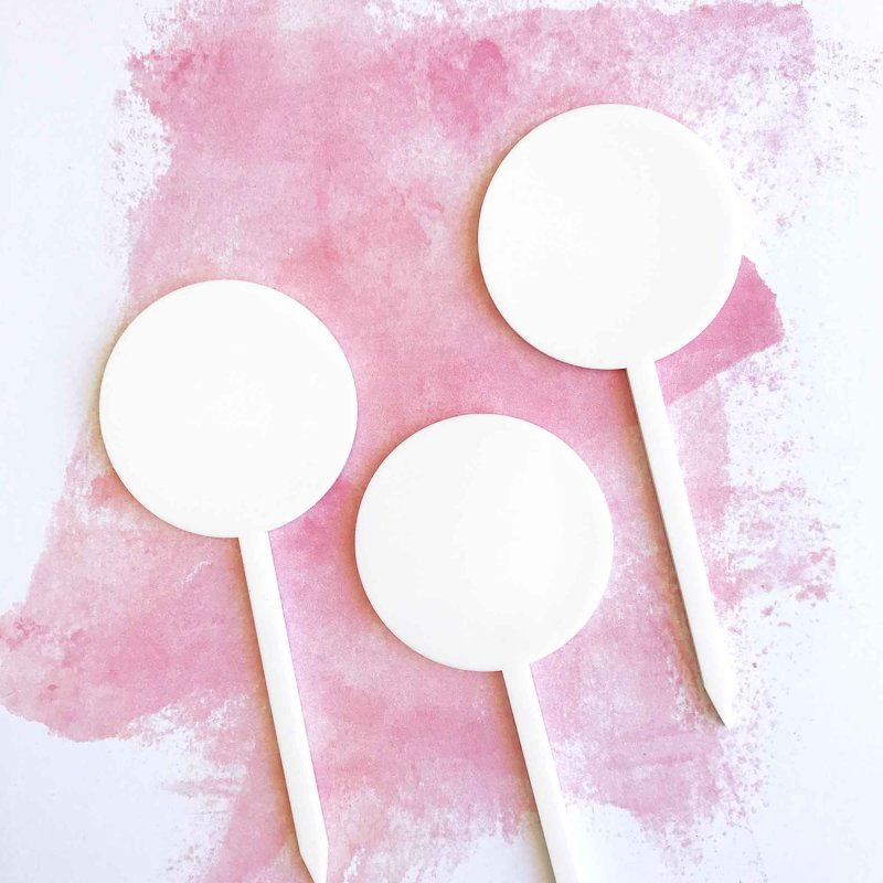 Simply Acrylic Cake Toppers